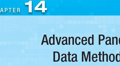 Advanced Panel Data